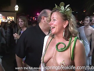 SpringBreakLife Video: Wild Toga Party amateur hd public video