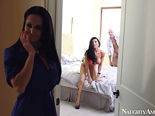 Ava Addams & Romi Rain & Johnny Sins in My Friends Hot Mom big butt big tits blowjob video