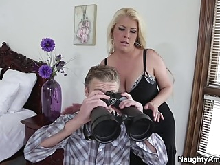 Joclyn Stone & Michael Vegas in My Friends Hot Mom big butt big tits blonde video