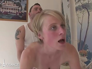 Diane Taxi French big tits anal hd video