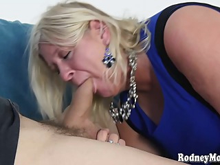 Mature MILF blondie named Cyndee Winter is up for some good oral sex with her partner big tits hd blonde video
