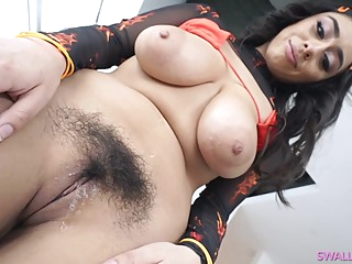 Violet Myers is a big titted, white bitch, who likes to suck a massive, black cock big tits latina hd video