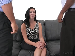 none big tits hd brunette video
