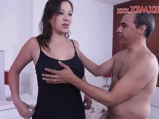 Stepmother P1 big tits hd brunette video
