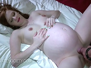 Brandi is getting fucked very hard in many positions, although she is pregnant for a while fetish hd brunette video
