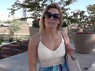 Blaten Lee is a dirty minded, blonde babe who is only thnking about rock hard dick public pov hd video