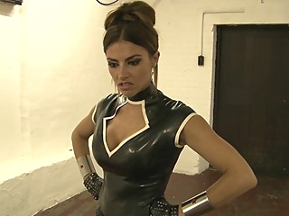 Kick Ass Kandy - Female Defeats Male - Victory Pose fetish hd femdom video