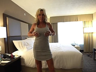 Smashing blonde milf knows exactly what she wants and it includes a rock hard cock big tits pov hd video