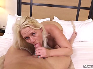 Busty blonde with a pretty smile is spreading her ass cheeks and getting fucked from the back big tits anal pov video