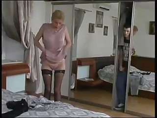 Caught By Step Mother milf straight  video