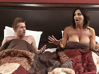 Tara Holiday & Danny D in Overnight With Stepmom: Part One - Brazzers big tits creampie latina video