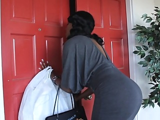 Black mommy giving head while her son's away milf mature blowjob video