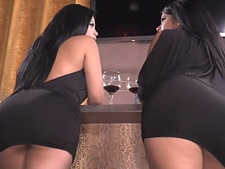 Two Bitches In A Row big tits big ass hardcore video