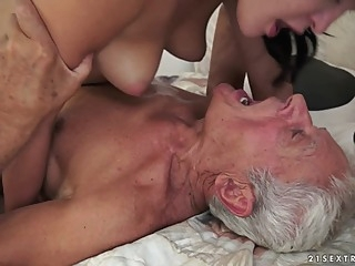 Dolly Diore in Of Picnics and Old Cocks Video facial cunnilingus brunette video