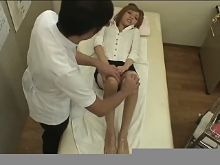 Foot massage(censored) japanese straight  video