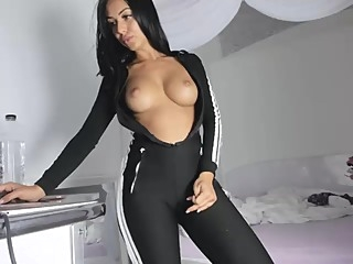 Perfect body APOLET amateur big tits straight video