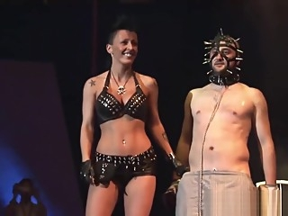 extreme fetish porn on public stage big tits european fetish video