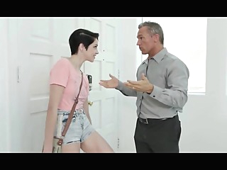 Short Haired Babysitter Pleases Her Boss glory hole gym indian video