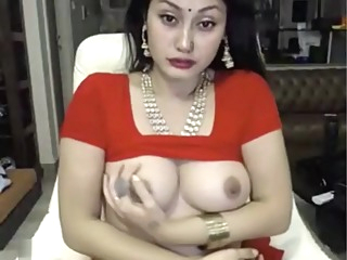 indian bitch masturbates in saree ohmibod lovense amateur big tits brunette video