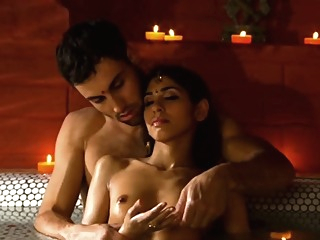Relaxing His Indian Girlfriend With Touch erotic hd indian video