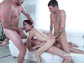 Three is enough anal big cock cumshot video