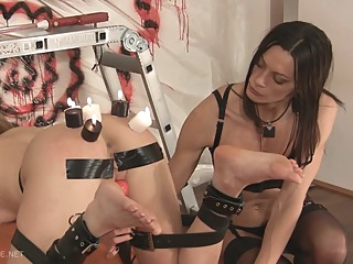 Queensnake - CatProdPart2 bdsm blonde brunette video