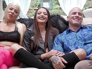 stunningly hard anal BDSM orgy with my step-parents anal bdsm big tits video