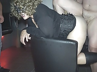 Jessica used by over 10 strangers at a porn theater amateur blonde creampie video