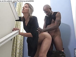 blonde fucked by black guy during party amateur blonde creampie video