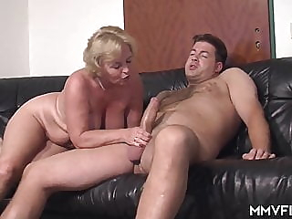 Mature sex blonde mature milf video