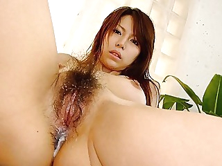 Japanese gal Rino Tokiwa sucks cock in POV, uncensored asian blowjob brunette video