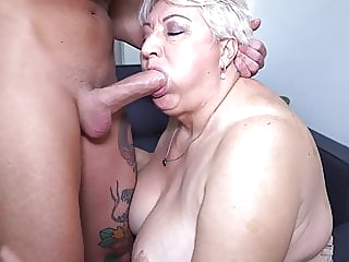 Big mom sucks and fucks her toyboy blowjob bbw mature video