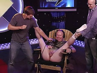 Howard Stern, Sarah Silverman smells Richard's balls for fun. amateur brunette celebrity video