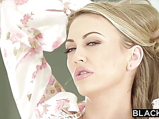 BLACKED Blonde nympho is on the prowl for BBC tonight blonde blowjob facial video