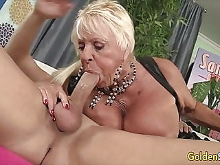 Golden Slut - Older Lady Blowjob Compilation Part 21 blonde blowjob mature video