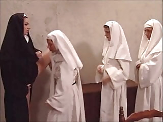 Hot Mother Superior Yolanda welcomes young nuns mature milf old & young video