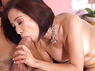 Asian Granny Kim Anh Takes Cock In Ass & Cum On Her Tongue. anal asian granny video