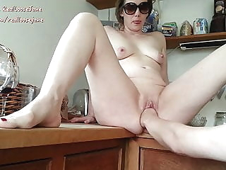 Kitchen Fisting British Milf Jane blowjob mature milf video