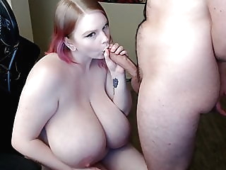 BLONDE BBW GETTING FUCKED BY HER BOYFRIEND AND HE CAN'T HANDLE HER blonde cumshot hd videos video