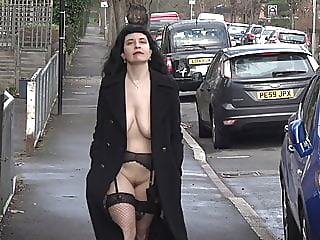 A day in London with Soozi - Part Two amateur public nudity flashing video