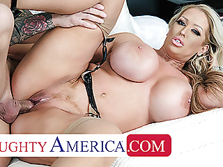 Naughty America - Alura Jenson gives Quinton the best fuck babe blonde blowjob video
