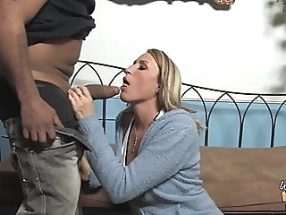 Joey Lynn blowjob pornstar interracial video