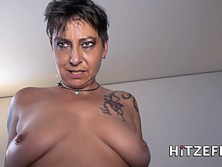 Inked Old German Slut Amateur Porn amateur big ass big tits video