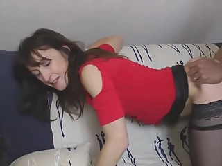 Amateur Mature French Mom Goes Black Bbc amateur big cock brunette video