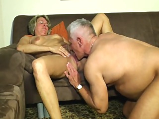 Grandpa And Grandma Having Fun amateur blonde cunnilingus video