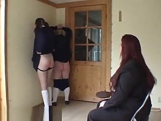 Uniform Teen Spank Hard amateur bdsm spanking video
