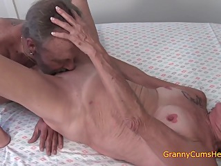 Elderly At 80 But A amateur creampie fetish video