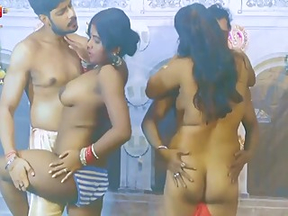 Bangali Wives In Group Foreplay big tits brunette group sex video