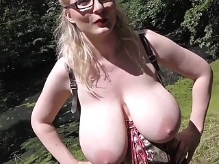 busty german pissing amateur blonde european video