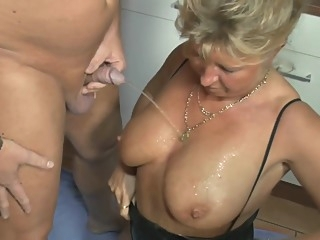 Anita - Petra Wegat kitchen watersport german granny hd video